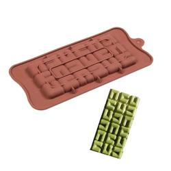 Форма силиконовая Плитка шоколада Квадраты