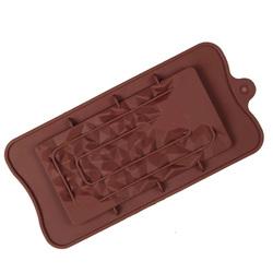 Форма силиконовая Плитка шоколада Крошка