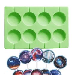Форма силіконова для льодяників Lolli Pop з 8 шт