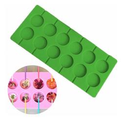 Форма силиконовая для леденцов Lolli Pop из 12 шт