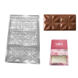 Полікарбонатна форма для шоколаду Плитка Візерунок №1
