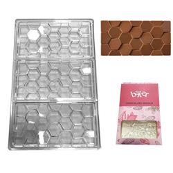 Полікарбонатна форма для шоколаду Плитка Соти