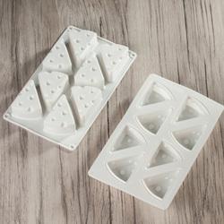 Форма силиконовая для евродесертов Сыр из 8 шт