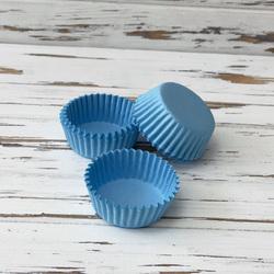 Форма для цукерок ніжно-блакитна 30х15 50шт.