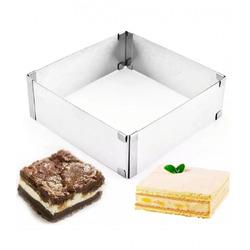 Регульована форма для торта квадрат