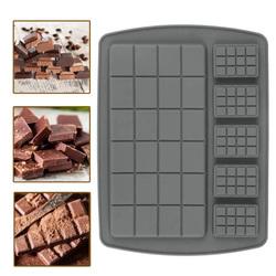 Форма силиконовая для конфет, льда Шоколадка микс на планшетке