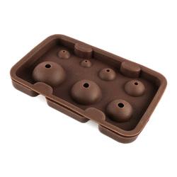 Форма силиконовая для кейк-попсов 7 шт (разного диаметра)