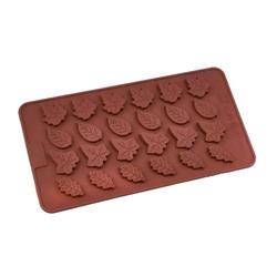 Форма силиконовая для шоколада Листики