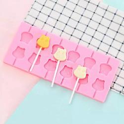 Форма силіконова для льодяників Lolli Pop Мумі Тролль з 12 шт + 20 паличок
