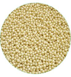 Рисовые шарики белые перламутровые 3 мм- 50 г