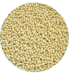 Рисовые шарики белые перламутровые 3 мм-20 г