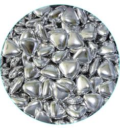 Сердца серебряные 20-22мм 100 г