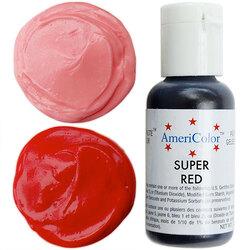 Краситель гелевый Americolor Супер Красный 21г.