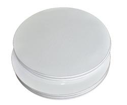 Поднос круглый d 30 см бел/бел