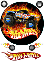 Картинка из мультика Hotwheels №3