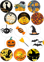 Картинка для маффинов,капкейков Хеллоуин №167