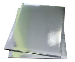 Поднос прямоугольный 30х40 см сер/сер