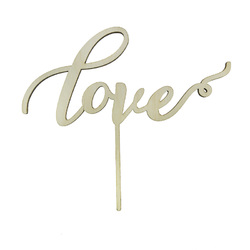 Топпер Love 14,5х6,5 см