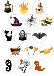 Картинка для маффинов,капкейков Хеллоуин №175