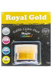 Блискучий пилок Золотий (Royal Gold) Magic Colours Lustre Dust (Меджік Колорс Ласте Дасть) 7 мл