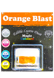 Блискучий пилок Помаранчевий (Orange Blast) Magic Colours Lustre Dust (Меджік Колорс Ласте Дасть) 7 мл