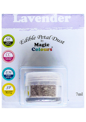 Пилок для декору Лавандовий (Lavender) Magic Colours Petal Dust (Меджік Колорс петлі Дасть)