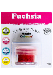Пилок для декору Фуксія (Fuchsia) Magic Colours Petal Dust (Меджік Колорс петлі Дасть)