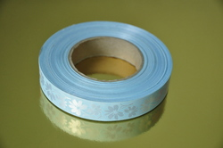 Декоративная лента 2*50 цвет голубой