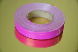 Декоративна стрічка 2 * 50, колір малиновий