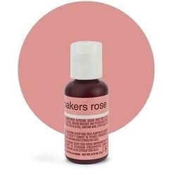 Гелевий барвник Chefmaster Liqua-Gel Bakers Rose (ніжно-рожевий) 21 г.