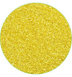 """Посипання """"Цукрові кристали Жовті"""" 3-4 мм, 100 г"""