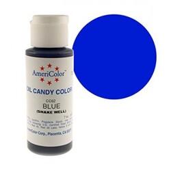 Краситель для шоколада  AmeriColor Blue  (синий) 56 гр.