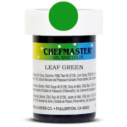 Пастоподібний барвник Chefmaster Gel Base Color Leaf Green (зелене листя) 28,35 м