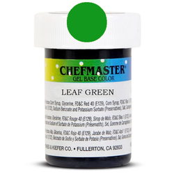 Пастообразный краситель Chefmaster Gel Base Color Leaf Green (зеленая листва) 28,35 г.