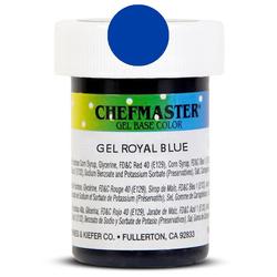Пастообразный краситель Chefmaster Gel Base Color Royal Blue (синий королевский) 28,35 г.
