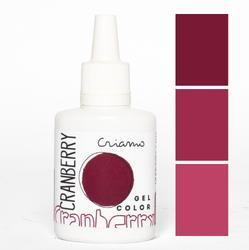 Краситель гелевый Criamo Клюквенный / Cranberry 25г.