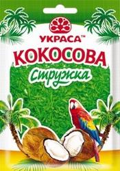 Кокосова стружка Зелена 25 г