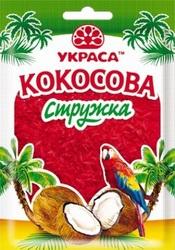 Кокосова стружка Червона 25 г