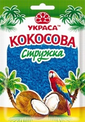 Кокосова стружка Блакитна 25 г