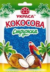 Кокосовая стружка Голубая 25 г