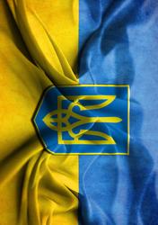 Картинка Флаг и Герб Украины №1