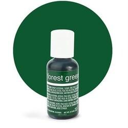 Гелевый краситель Chefmaster Liqua-Gel Forest Green (зеленый лес) 21 г.