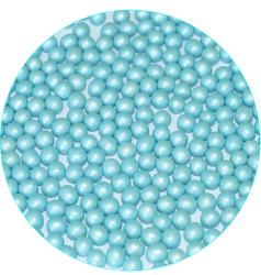 Жемчуг Голубой 5 мм, 100г