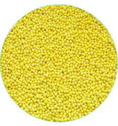 Нонпарель перламутрове жовте D-1мм 50 г