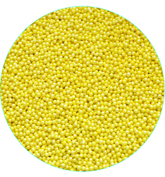 Нонпарель перламутровое желтое D-1мм 100 г