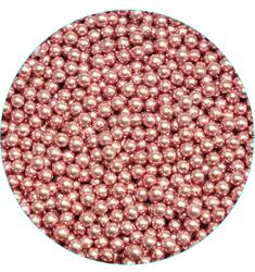Шарики розовые, 5 мм-100 г