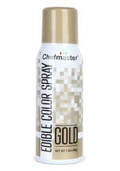 Спрей барвник перламутровий Золотий 42 г Chefmaster