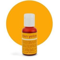 Гелевый краситель Chefmaster Liqua-Gel Golden Yellow (яично-желтый) 21 г.