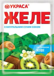 """Желе вкус """"Киви"""" натуральные красители"""