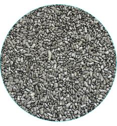 """Посипання """"Пластівці Срібло"""" шоколадні, 3-4 мм, 100 г"""
